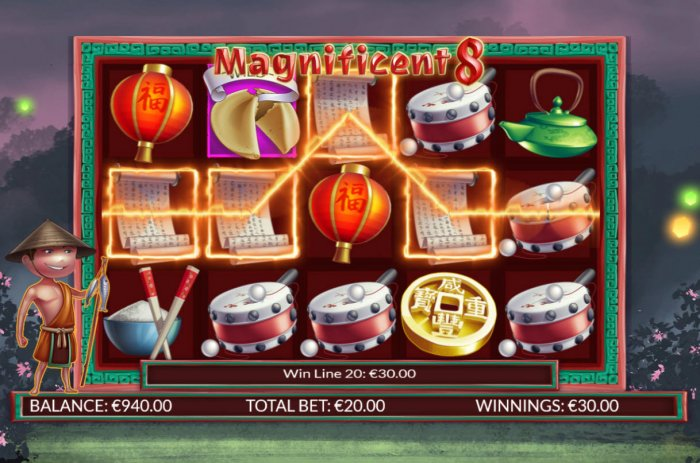 All Online Pokies image of Magnificent 8