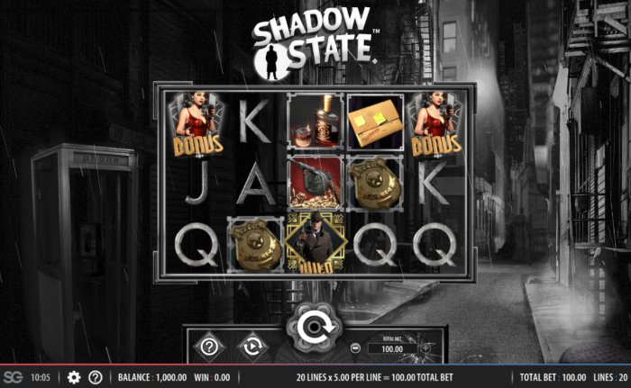 Shadow State by All Online Pokies