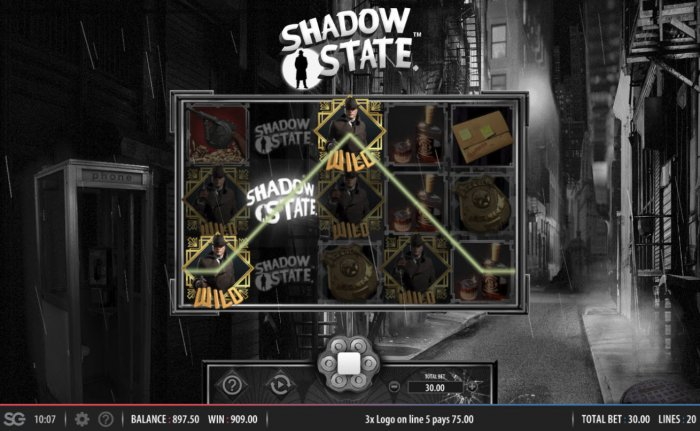 Shadow State screenshot