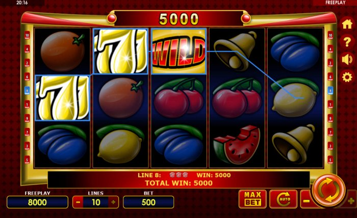 All Online Pokies - A winning three of a kind