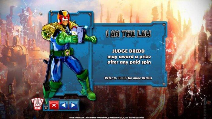 All Online Pokies image of Judge Dredd