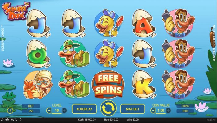 All Online Pokies image of Scruffy Duck
