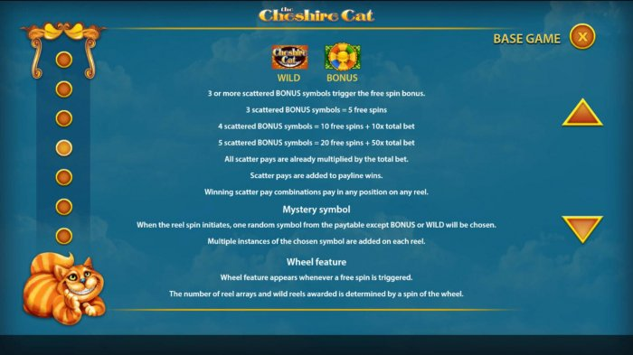 All Online Pokies - Bonus, Mystery Symbol and Wheel Feature Rules