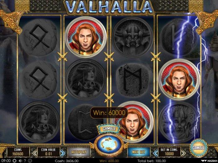 All Online Pokies image of Valhalla