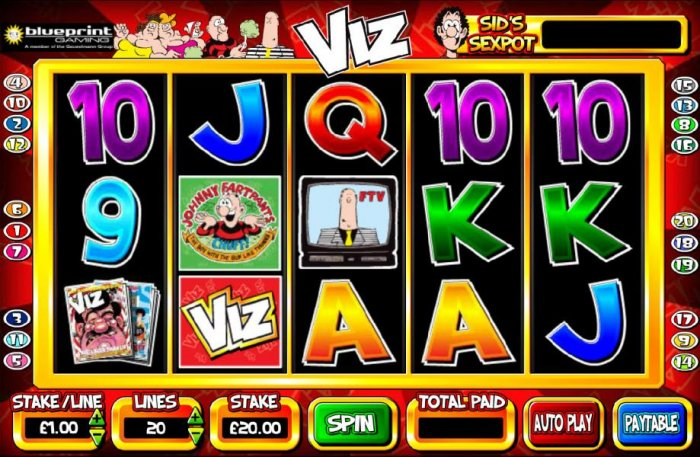All Online Pokies image of Viz