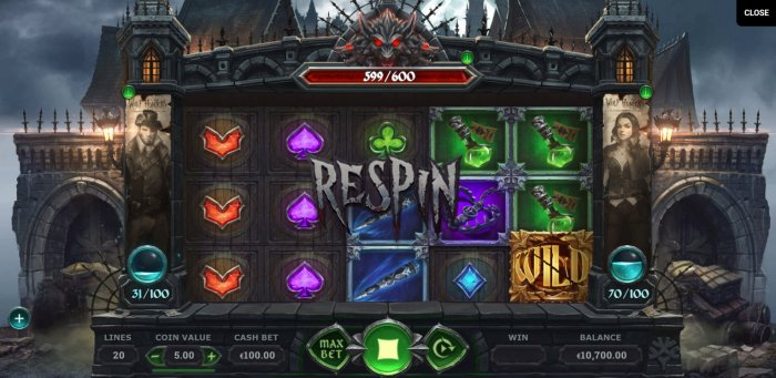 All Online Pokies - Respin Triggered