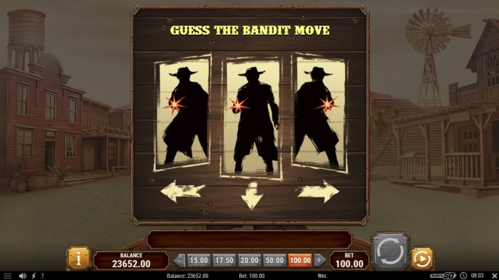 Guess the bandits move by All Online Pokies