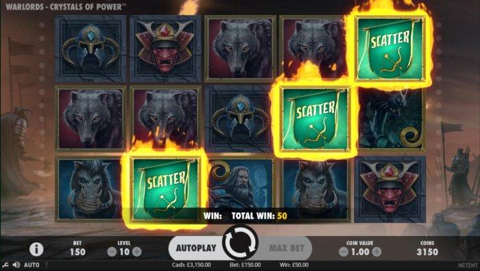 Warlords Crystals of Power screenshot
