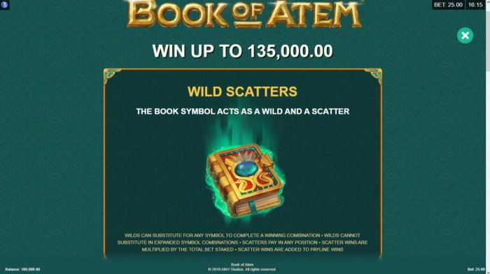 Wild and Scatter Rules by All Online Pokies
