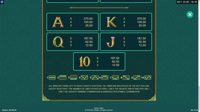 All Online Pokies image of Book of Atem