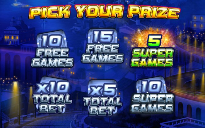 5 Free Games Awarded by All Online Pokies