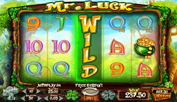 All Online Pokies image of Mr. Luck