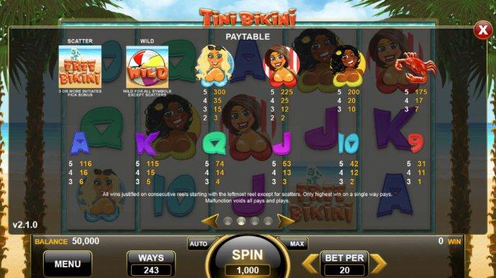 Tini Bikini screenshot