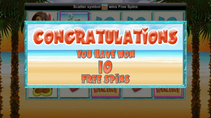 10 Free Spins Awarded - All Online Pokies