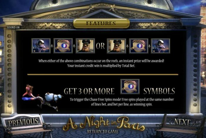 A Night in Paris by All Online Pokies