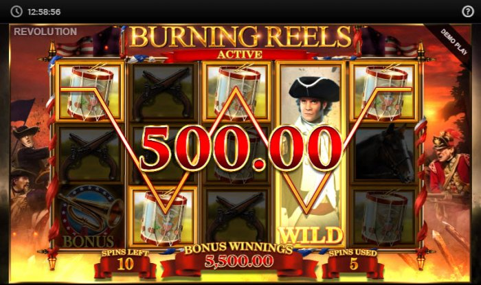Revolution Patriot's Fortune by All Online Pokies