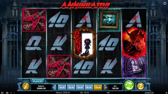 Annihilator by All Online Pokies