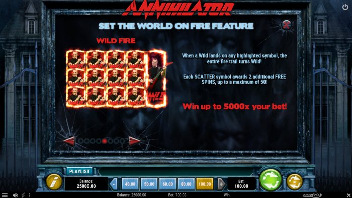 Set The World On Fire Feature by All Online Pokies