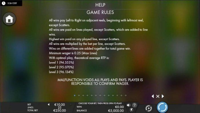 Euro Golden Cup screenshot
