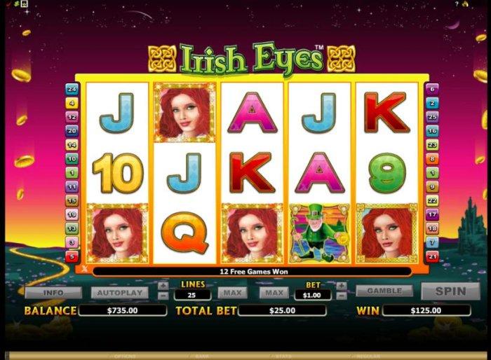 Irish Eyes screenshot