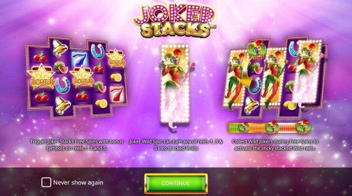 All Online Pokies image of Joker Stacks