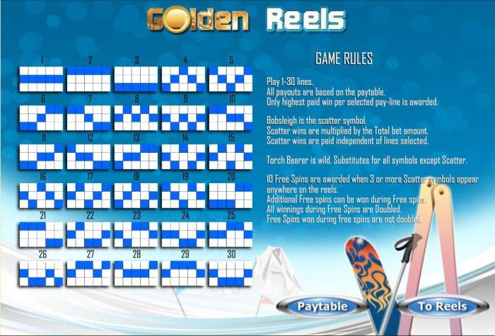 All Online Pokies image of Golden Reels