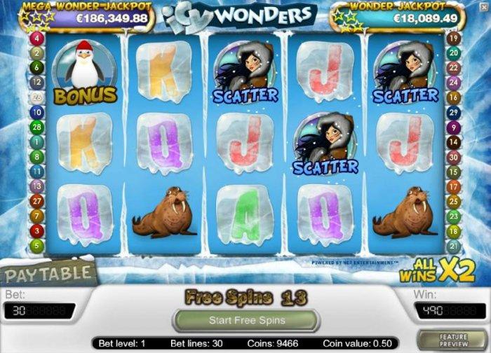All Online Pokies image of Icy Wonders