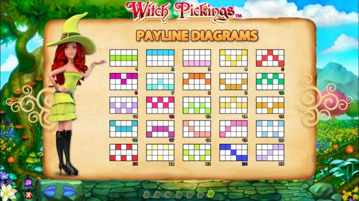 All Online Pokies image of Witch Pickings