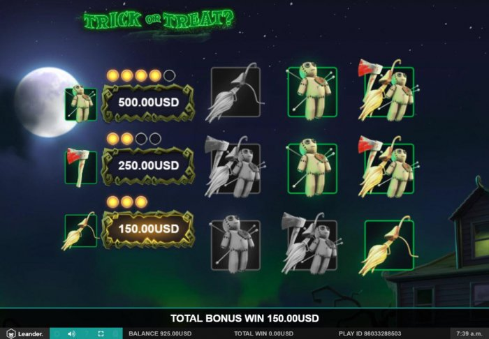 All Online Pokies image of Trick or Treat