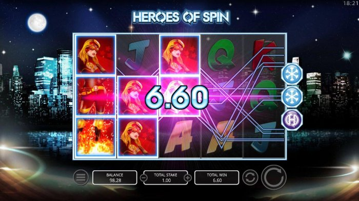 Heroes of Spin by All Online Pokies