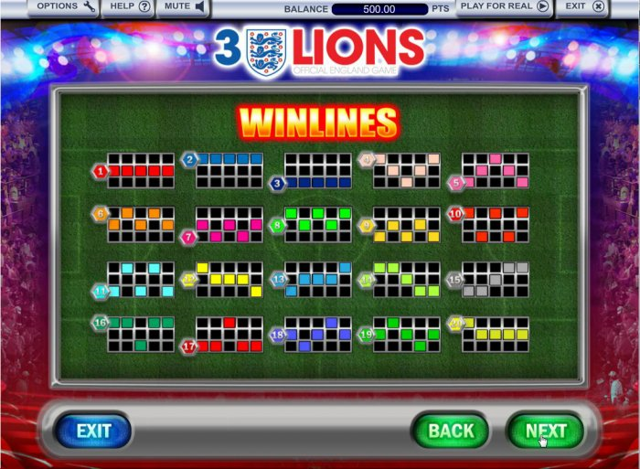 3 Lions by All Online Pokies