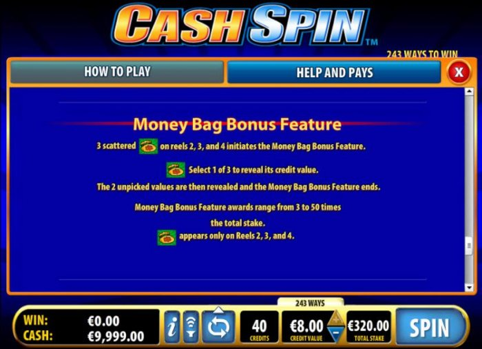 Images of Cash Spin