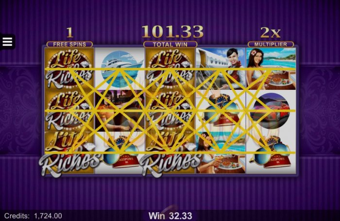 All Online Pokies image of Life of Riches