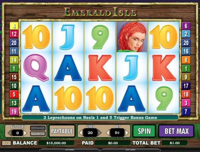Emerald Isle screenshot