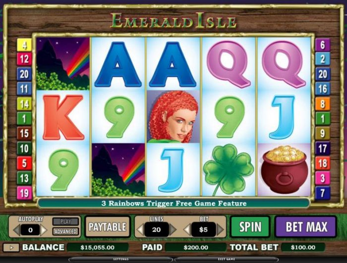 All Online Pokies image of Emerald Isle