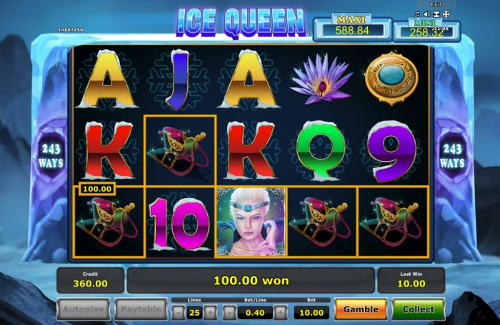 A winning five of a kind - All Online Pokies