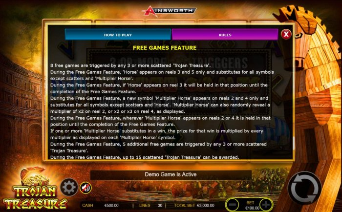 All Online Pokies - Free Games Feature Rules