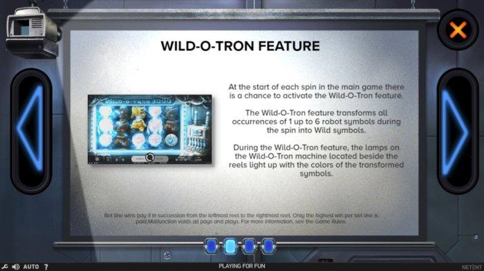 Wild-O-Tron 3000 screenshot
