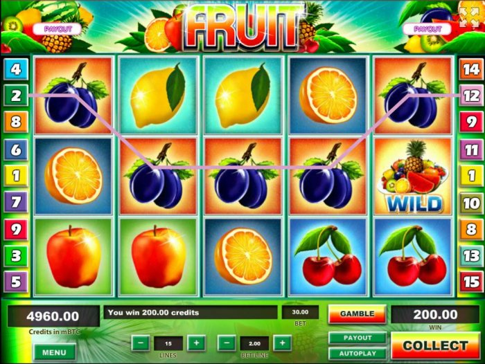 Fruit by All Online Pokies