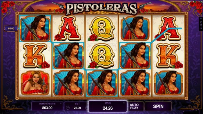 All Online Pokies - A pair of winning paylines triggers a 120.00 big win