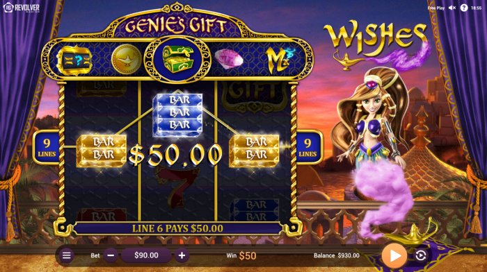 All Online Pokies image of Wishes