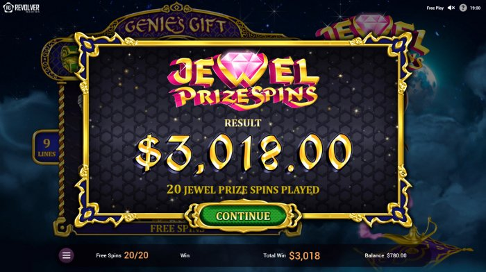 All Online Pokies - Total free spins payout
