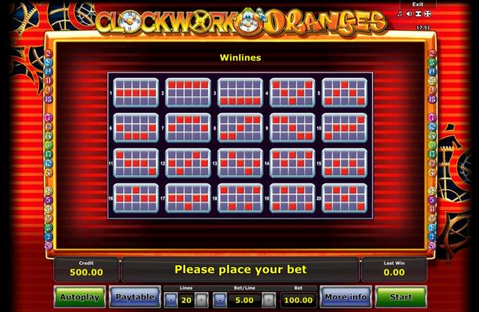 Clockwork Orange by All Online Pokies