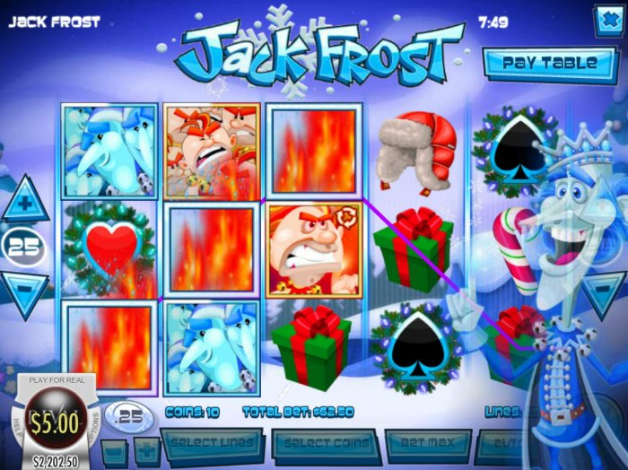 Jack Frost by All Online Pokies