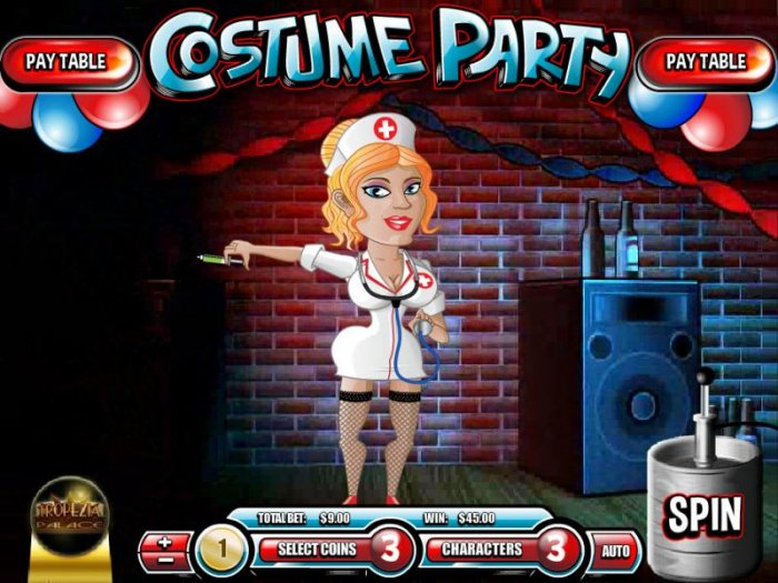 a $45 jackpot triggered by nurse symbol by All Online Pokies