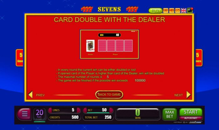 Card Double with the Dealer Rules - All Online Pokies