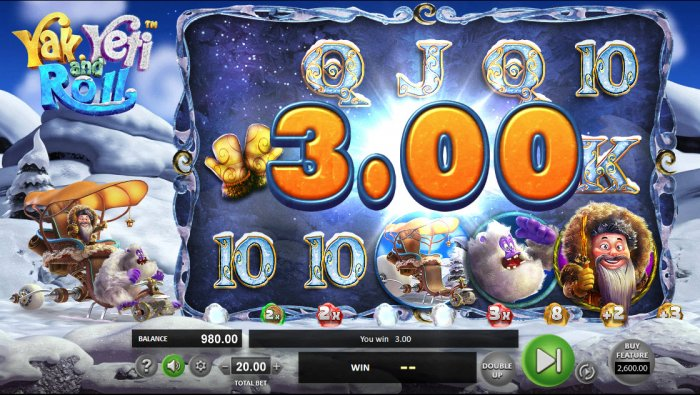 All Online Pokies image of Yak Yeti and Roll