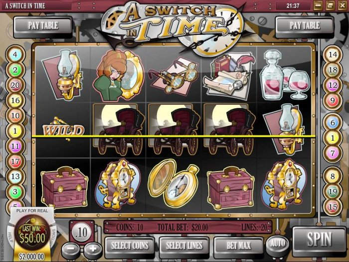 four of kind triggers a $50 payout - All Online Pokies