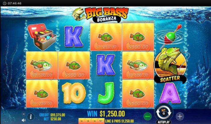 Big Bass Bonanza screenshot