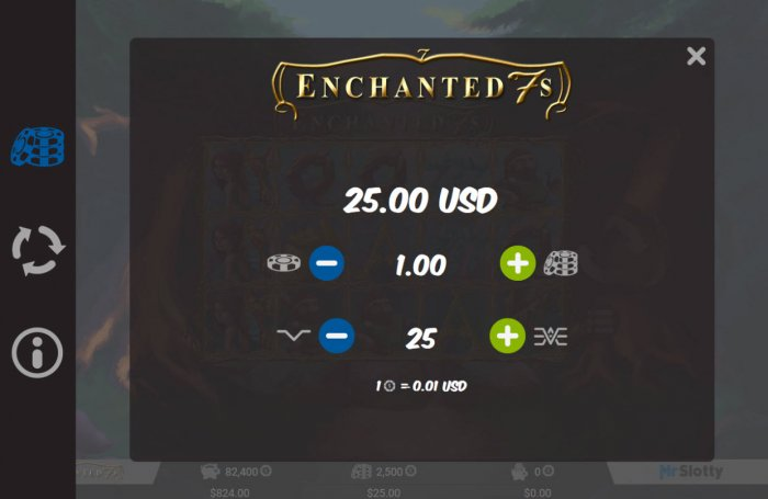 Enchanted 7s by All Online Pokies